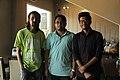 Moheen Reeyad, Intakhab & Tameem Mahmud, Wikicamp Chattogram, 2019.04.20 (02).jpg
