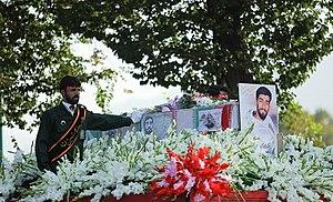 Mohsen Hojaji - Hojjaji's funeral in Naqsh-e Jahan Square, Isfahan