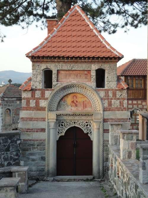 Monasterio de Zica, cerca de Kraljebo, Serbia