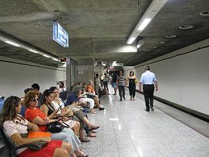 Monastiraki metro station - Monastiraki line 3 platforms