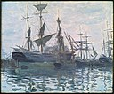 Monet - Ships in a Harbor, about 1873.jpg