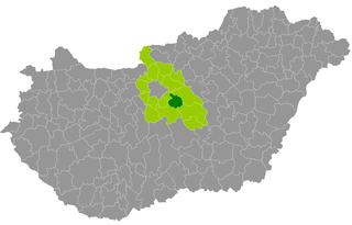 Monor District Districts of Hungary in Pest