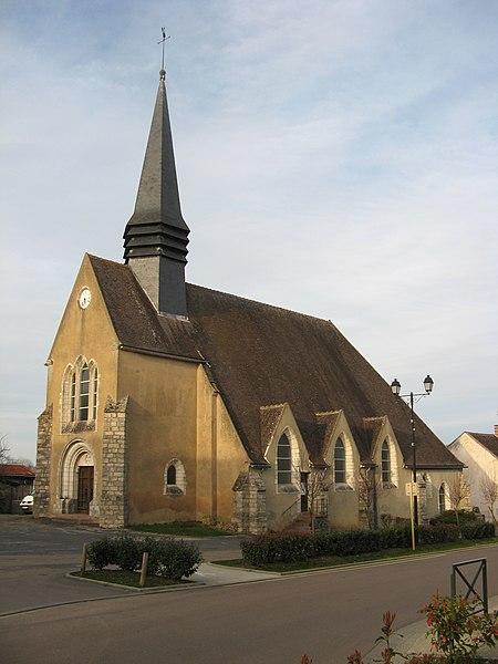 Montacher-Villegardin, église de Montacher
