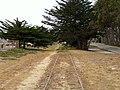 Monterey Branch tracks in Marina (2), July 2018.JPG