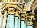 Montgeroult (95), église Notre-Dame-de-l'Assomption, chapelle latérale sud, chapiteaux dans l'angle NO (pile SE du clocher) 1.JPG