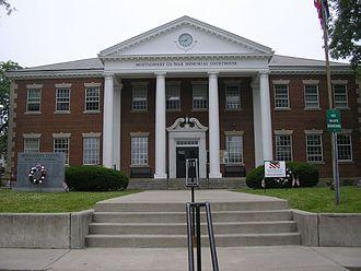 Montgomery County, Kentucky - Image: Montgomery County, Kentucky courthouse
