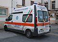 Montignoso PA Croce Azzurra ambulance DT 027 HJ 02.JPG