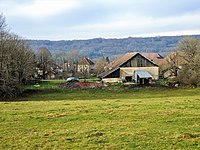 Montivernage. vu de la route de Lanans. Doubs.jpg