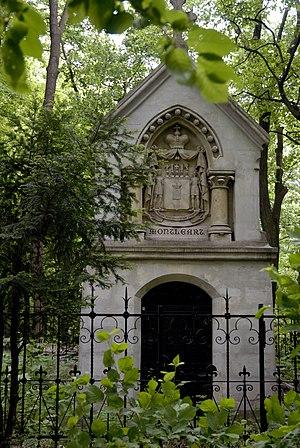 Schloss Wilhelminenberg - The Montléart mausoleum