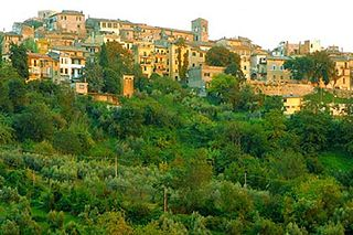 Montopoli di Sabina Comune in Latium, Italy
