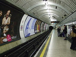 Moorgate Northern nbound