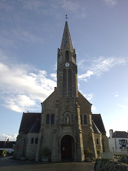 Morbihan Saint-Pierre-Quiberon Eglise