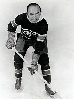 Howie Morenz Canadian ice hockey player