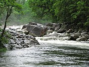 Mossman River during the wet season