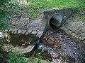 Motolský potok, ústí výtoku z motolských rybníků.jpg
