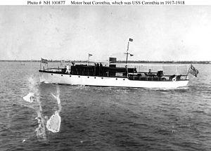 Motorboat Corinthia port beam.jpg