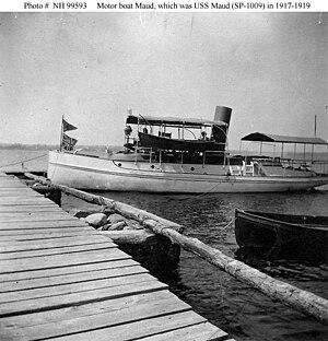 Motorboat Maud