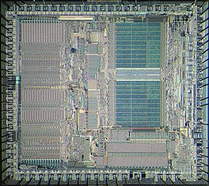 Motorola 68012 - Die of Motorola 68012.