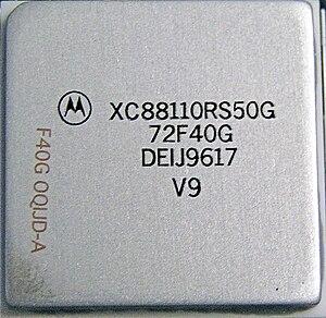 Motorola 88000 - Motorola 88110 RISC CPU