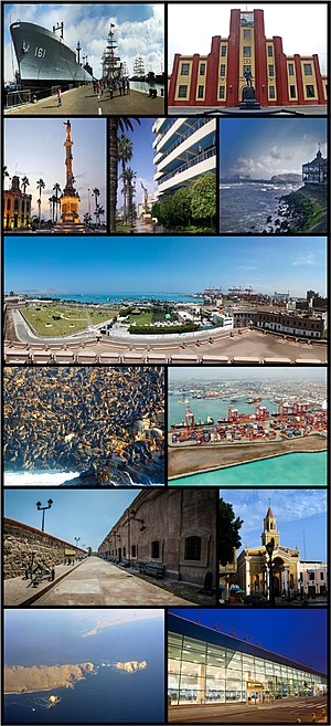 Photo montage of Callao