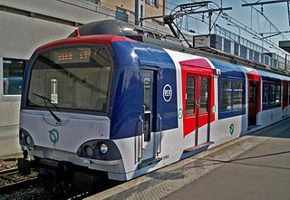 class of French suburban electric multiple units