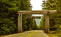 Mt. Baker - Snoqualmie National Forest Entrance Sign, Washington (22139721804).jpg