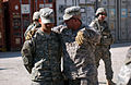 Multi-National Forces - Iraq Top non-commissioned officer talks with Striker Soldiers DVIDS137102.jpg