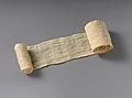 Mummy Bandage from Tutankhamun's Embalming Cache MET DP225316.jpg