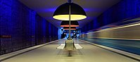 Munich subway station Westfriedhof.jpg