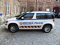 Municipal police car Czech Republic 02.JPG