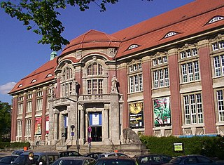 Museum of ethnology in Hamburg, Germany