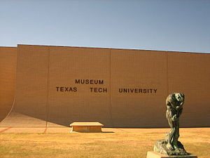 Museum of Texas Tech University - Image: Museum of Texas Tech University IMG 0038