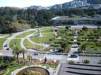 Music Concourse from Hamon Tower 1.JPG