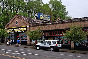 Music Millennium - Music Millennium's original 1969 store, still in operation in 2015