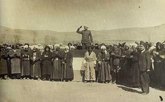 Republic of Mahabad - Qazi Muhammed establishing the Republic of Mahabad