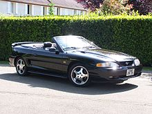 ford mustang — wikipédia
