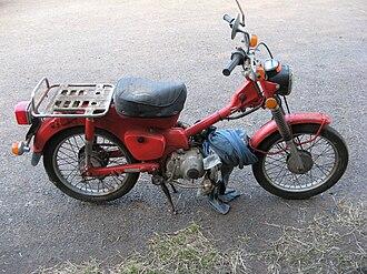 Honda CT90 - A 1976 Honda CT90
