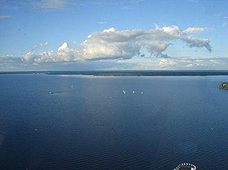 Näsinneula - Image: Näsijärvi