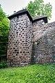 Nürnberg, Stadtbefestigung, Spittlertormauer, Kasemattenturm XX 20170616 001.jpg