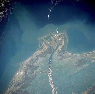 Guntur district - Guntur Coast by NASA