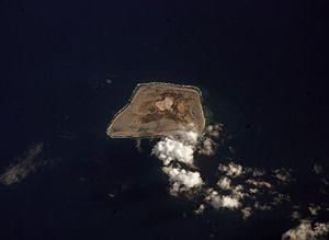 Jarvisinsel (NASA-Astronautenfoto)