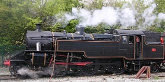 Steam locomotives of Ireland - Image: NCC WT Class loco no 4