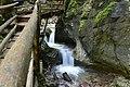 NDOÖ 181 Dr Vogelgesangklamm Wasserfall unter Steg.jpg