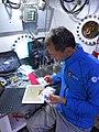 NEEMO 22 Aquanaut Pedro Duque in the Aquarius habitat.jpg