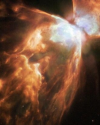 Sharpless catalog - Image: NGC 6302HST