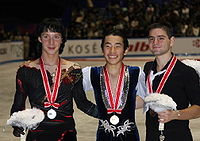 NHK Trophy 2008 mens podium.jpg
