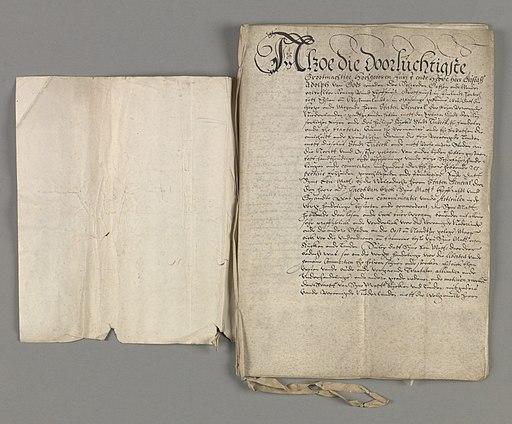 NL-HaNA 1.01.02 12585.1A 01 Tractaat Vriendschapsverdrag Zweden 1614 02