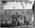 NORTH (REAR) ELEVATION - Elizabeth Barnwell Gough House, 705 Washington Street, Beaufort, Beaufort County, SC HABS SC,7-BEAUF,34-3.tif