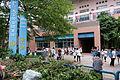 NTU Gym West Court View from Sidewalk in CWT40 20150809.jpg