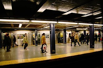 IND Eighth Avenue Line - Image: NYCS IND WTC
